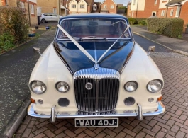 Daimler for wedding hire in Whitstable